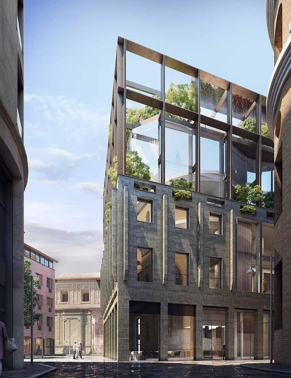 pasini martinoli architetti esterno