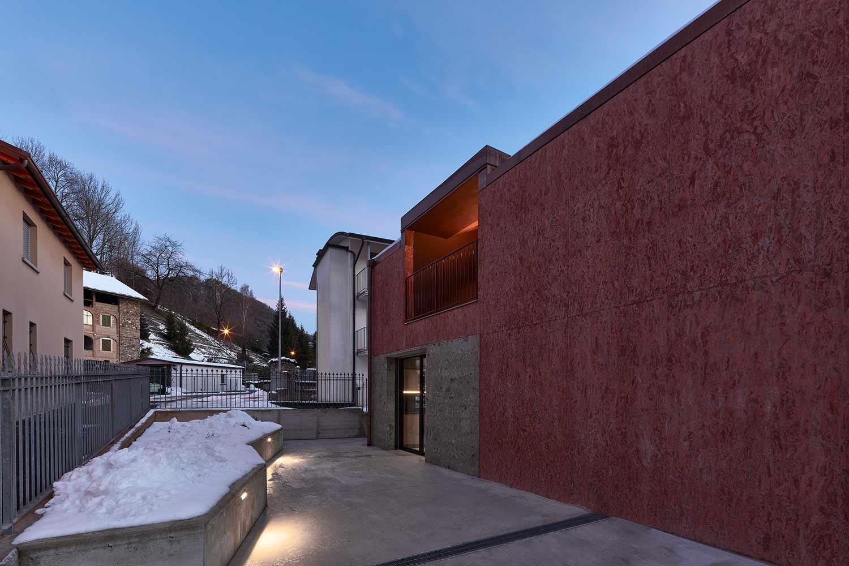 esterni architetti martinoli pasini casa